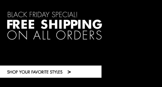 Black Friday. Free shipping
